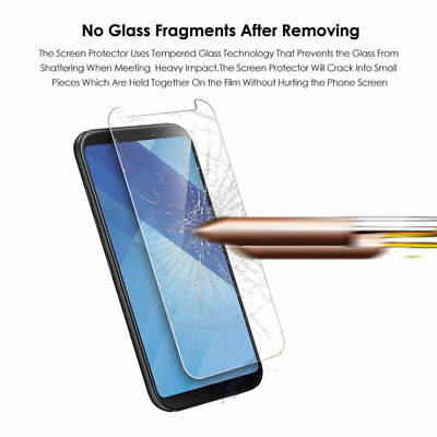 2Pcs Tempered Glass Screen Protector Film Cover For Samsung Galaxy Phone Series 7