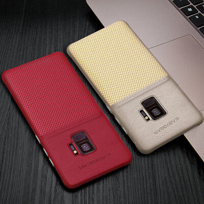 Fits Samsung Galaxy Luxury Leather Ultra-Thin Slim Hard Protective Case Cover 11