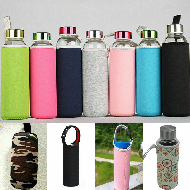 NEW Sport Water Bottle Cover Neoprene Insulated Sleeve Bag Case Pouch Gift 2