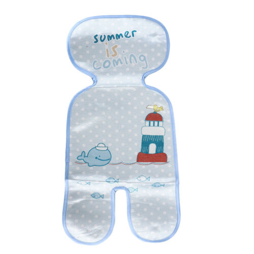 Baby Infant Stroller Car Seat Pram Highchair Cool Icy Silky Liners Pad Mat 2