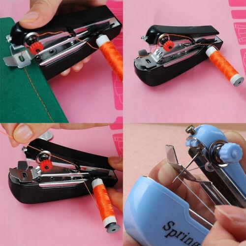 Mini macchina da cucire a mano portatile cordless tessuto portatile WQQ 10