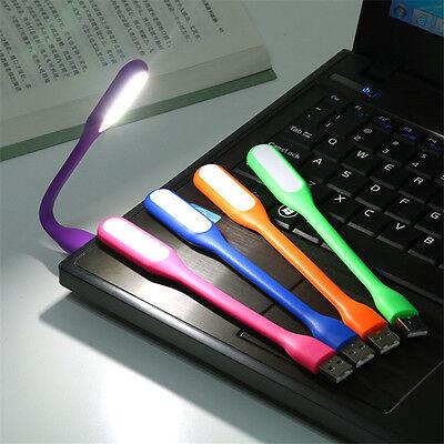 Mini Lampe Led Usb Flexible Ordinateur Bureau Lecture Pc Mac Voyage