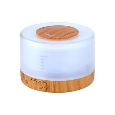 500ml Remote Control Ultrasonic Humidifier Essential Oil Diffuser Aromatherapy