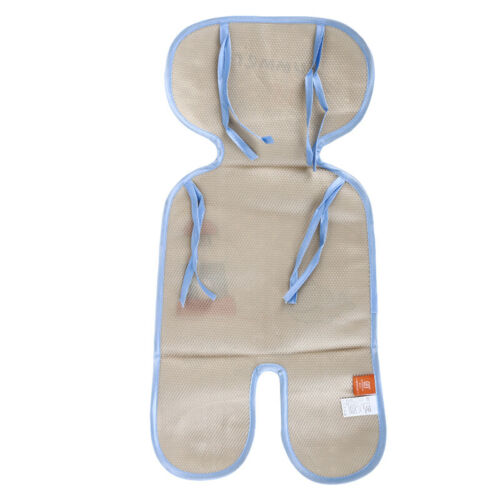 Baby Infant Stroller Car Seat Pram Highchair Cool Icy Silky Liners Pad Mat 4