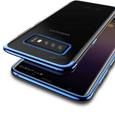COVER per Samsung Galaxy S10 /S10e/ S10 Plus CUSTODIA ORIGINALE Electro TPU Slim 5