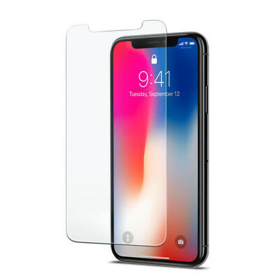 VITRE PROTECTION VERRE TREMPÉ FILM ÉCRAN iPhone XR X XS MAX 8 7 6 6S Plus LOT1-5 10