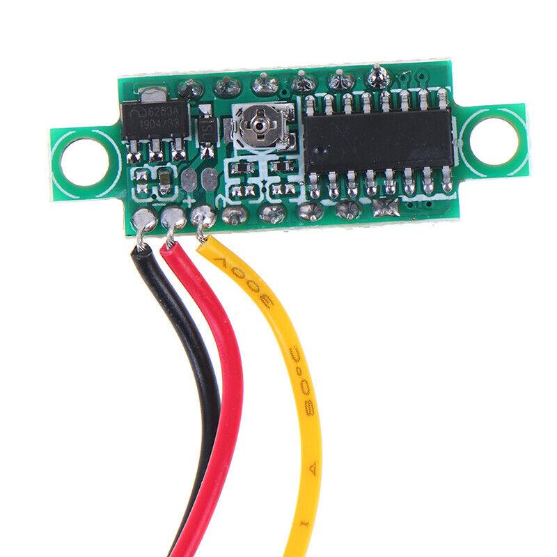 0.28 inch DC 0-100V 3-WireGauge voltage meter Voltmeter With LED Display DigitDR 6
