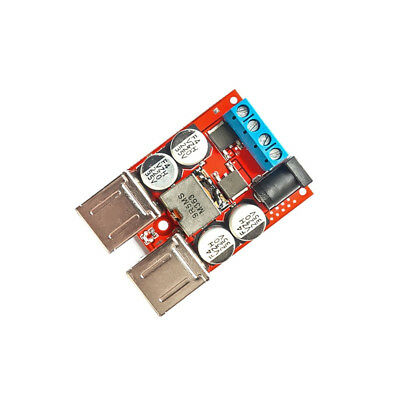 4 USB Buck Step down 8V-35V to 5V 8A Power Supply Module for Phone Car Charger 2