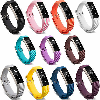 Replacement Silicone Wrist Band Strap Bracelet For Fitbit Alta Alta HR Watch st 4