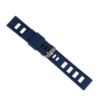 20/22mm Silicone Rubber Watch Band Strap Replacement Bracelet Spring Bars 8