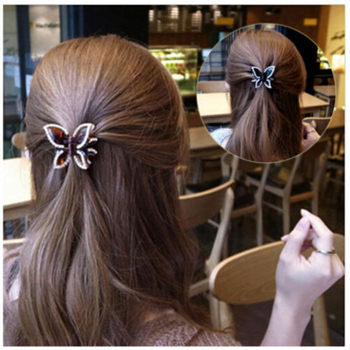 Fashion Women Girls Gold Silver Animal Flower Hairpin Hair Clip Hair Accessories 11