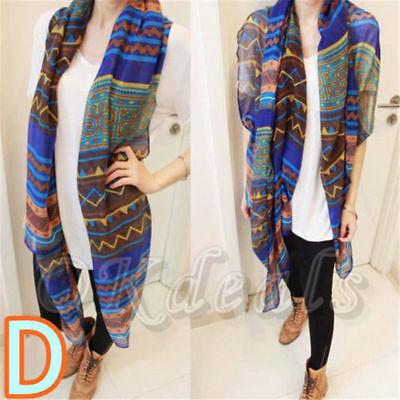 Fashion Ladies Women's Long Soft Wrap Shawl Scarf Pashmina Stole Scarves 9
