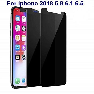 [2-Pack] iPhone X XS XR XS Max Privacy Anti-Spy Tempered Glass Screen Protector 2