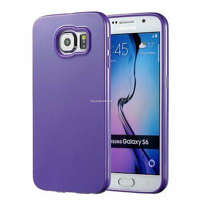 For Samsung Galaxy S6 S7 Edge S8 S9 Plus Case Silicone Rubber Protective Cover