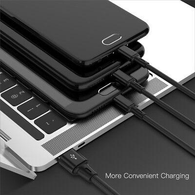 Universal 3 in1 USB Multi Fast Ladekabel Kabel Für Samsung Galaxy S8 S9 S8 S9+ 4