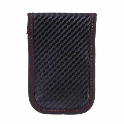 Black Car Key Signal Blocker Case Pouch Bag Faraday Cage Keyless RFID Blocking 6