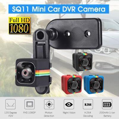 Telecamera Spia Microcamera Infrarossi Full Hd Nascosta Micro Notturna Mini Sq11 5