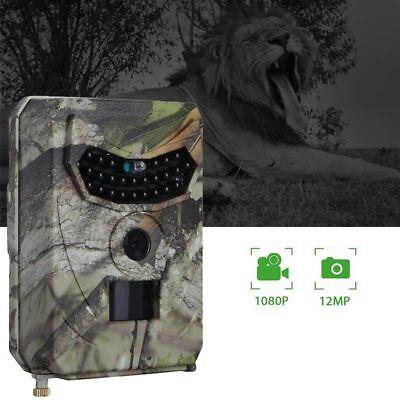 1080P Hd Fototrappola Mimetica Spia Videocamera Infrarosso 12Mp Impermeabile 9