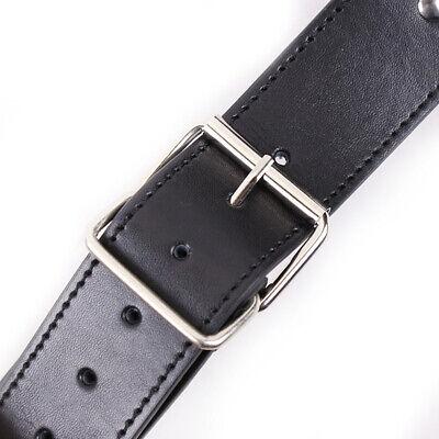 PU-Lederhalsband an Handfesseln Handgelenksmanschetten Slave-Gurtzeug-Handschell 8