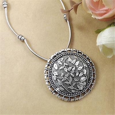 Fashion Vintage Tibetan Silver Turquoise Beads String Pendant Women's Necklaces 7