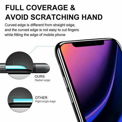 Screen Protector for iPhone 11, 11 Pro Max 9H Curved FULL COVER TEMPERED GLASS 6