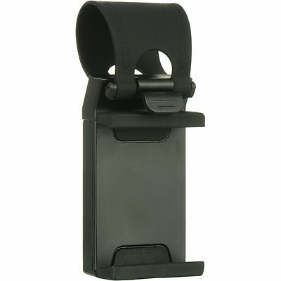 Universal Car Steering Wheel Clip Mount Holder Cradle Stand For Mobile Phone GPS 2