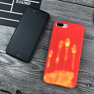 new concept 18f6e 65079 THERMAL DISCOLORATION CHANGE Color Phone Case Soft Cover For iPhone 6 6s 7  Plus