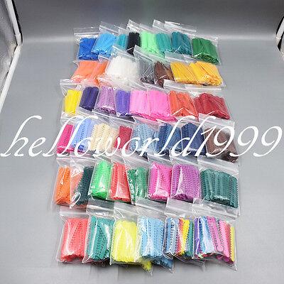 1008 Pcs Ligature Tie Dental Ortho Ring Elastic Latex Bands 45 Colors Can Choose