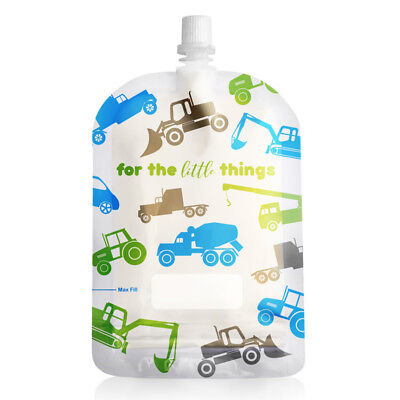 New 150ml Sinchies Reusable Food Pouches BPA Free Child, Adult, Camping 5/10/20 3