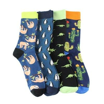 Cool Food Animal Hip Hop Crew Socks Funny Street Crew Socks Men Harajuku Divert 11
