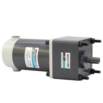 New Gear Motor Worm Gear Gearbox Worm Gear Reducer RV Motor DC 12V/24V 15-300W 3