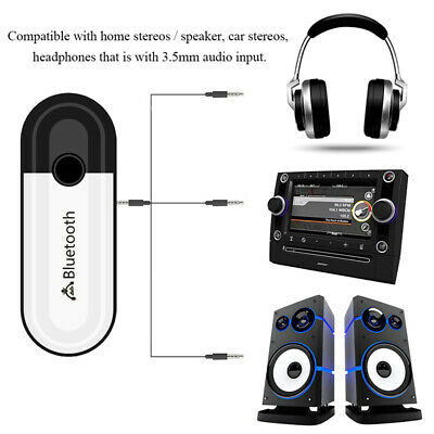 2 in 1 Bluetooth 5.0 Receiver USB Audio Wireless *Adapter For Headphone Spea KY 6