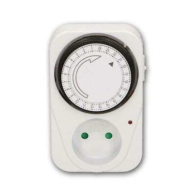Minuterie mécanique Analogique dernière Minuteur ip20 3500 W prise de courant 24 H