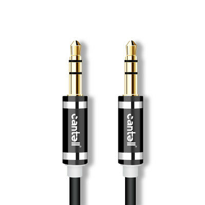 Cantell 2M 3M 3.5mm Male to Male AUX Stereo Audio Cable Speaker Auxiliary Cord 4
