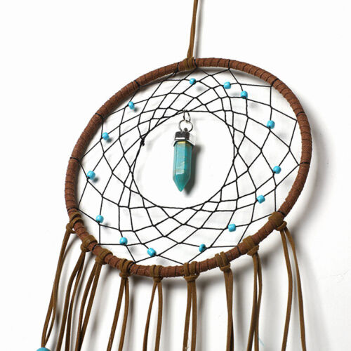 Large Feathers Dream Catcher Dreamcatcher Car Wall Hanging Decoration Ornament 7