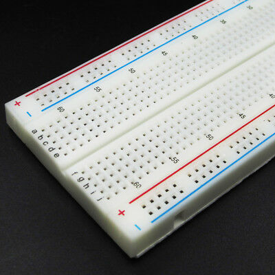 MB-102 Solderless Breadboard Protoboard 830 Tie Points 2 buses Test Circuit 3