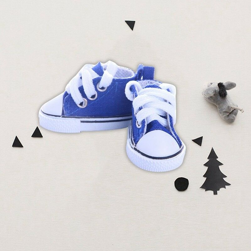 5cm Doll Accessories Sneakers Shoes for dolls,Fashion Mini Canvas Shoes NIER