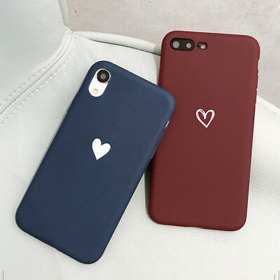 Case for iPhone 8 7 6S Plus XR XS MAX ShockProof Soft Phone Cover TPU Silicone 10