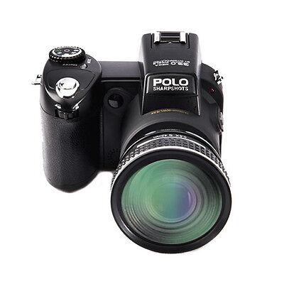 Appareil photo numérique POLO D7200 33MP 1080P +3 objectif large +projecteur LED 7