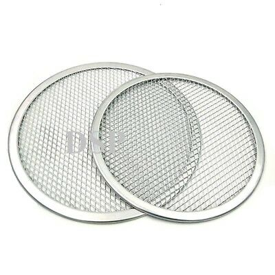 "5"" to 24"" Inch Aluminium Mesh Pizza Screen Baking Tray  Wire Mesh Food Crisper 4"