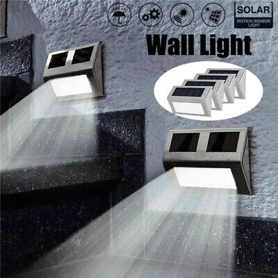 Security Super Bright Solar Powered LED Outdoor Wall Lights Shed Garden Lighting 12