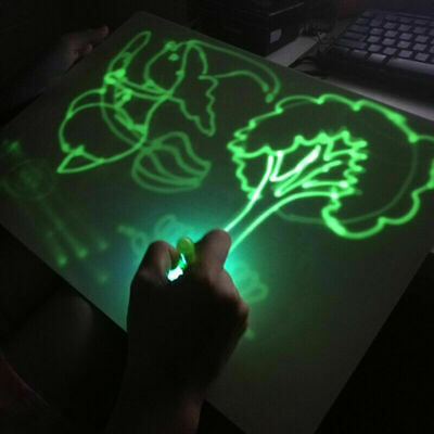 Draw With Light Fun And Developing Toy Drawing Board Magic Draw Educational 2019 6