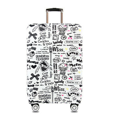 """18""""-32"""" Luggage Suitcase Elastic Protective Travel Dustproof Protector Cover Bag 5"""