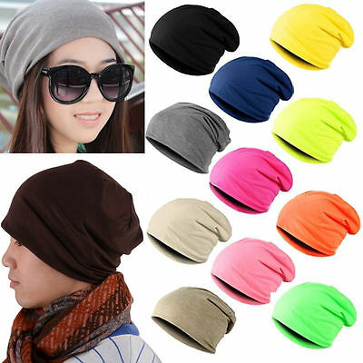 bcd703ec480 Men Women Winter Warm Unisex Knit Ski Crochet Slouch Hat Cap Beanie Hip-Hop Hats  Women s Accessories