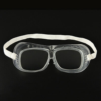 WK Eye Protection Protective Lab Anti Fog Clear Goggles Glasses Vented Safety SE