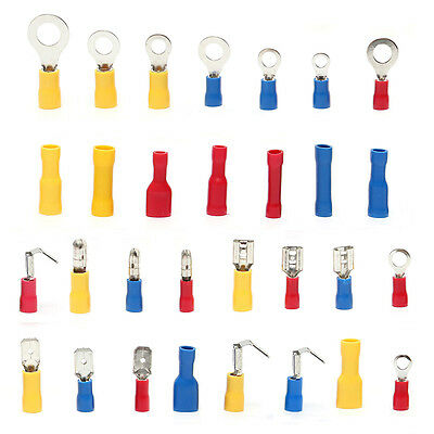 Electrical Wire Connector 720pcs Assorted Insulated Crimp Terminals Spade Set DH 7