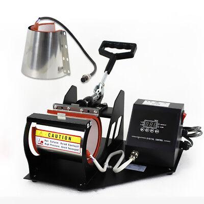 2in1 Station Mug Cup Heat Press Machine Sublimation For 11OZ 12OZ 2