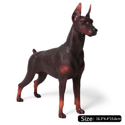 Dogs Puppy Dobermann German Gift #15398 Doberman Pinscher Dog Coaster 4 Set