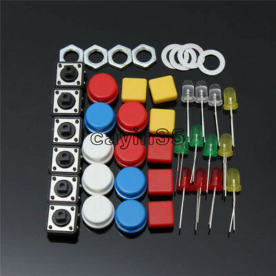 Electronic Parts Pack KIT for ARDUINO Component Resistors Switch Button UK 4