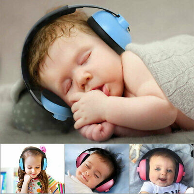 Kids Baby Folding Ear Defenders Noise Reduction Protectors Children Adjustable 4